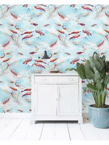 Creative Lab Amsterdam Fishes Wallpaper