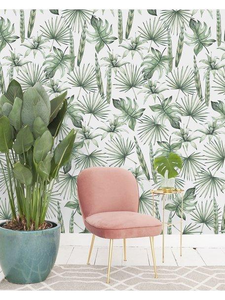 Creative Lab Amsterdam Jungle Leaves Behang