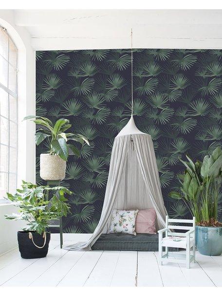 Creative Lab Amsterdam Palm Leaves Dark Green Behang