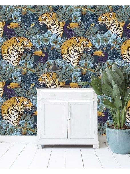 Tiger Jungle Behang