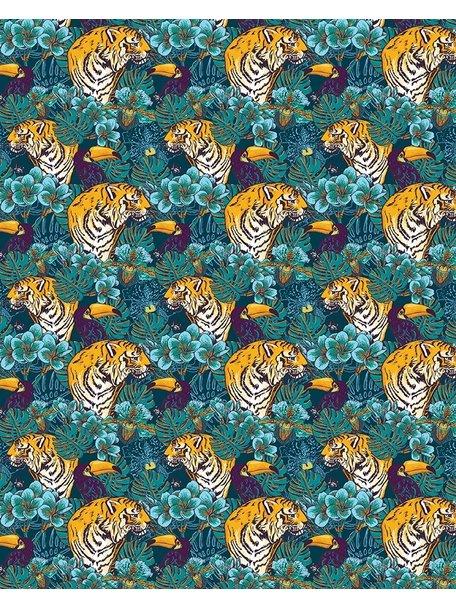 Creative Lab Amsterdam Tiger Jungle Behang
