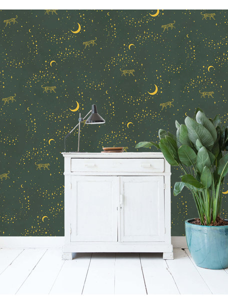 Creative Lab Amsterdam Stargazer Wallpaper Gold
