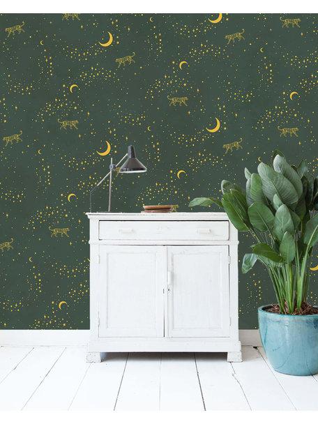Stargazer Wallpaper Gold