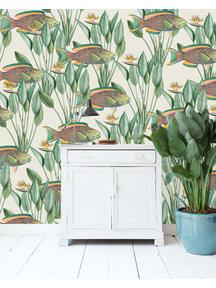 Creative Lab Amsterdam Parrot Fish Wallpaper