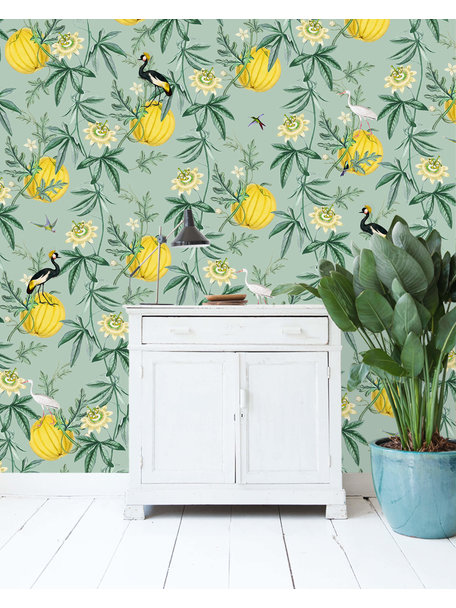 Creative Lab Amsterdam Crowned Wallpaper
