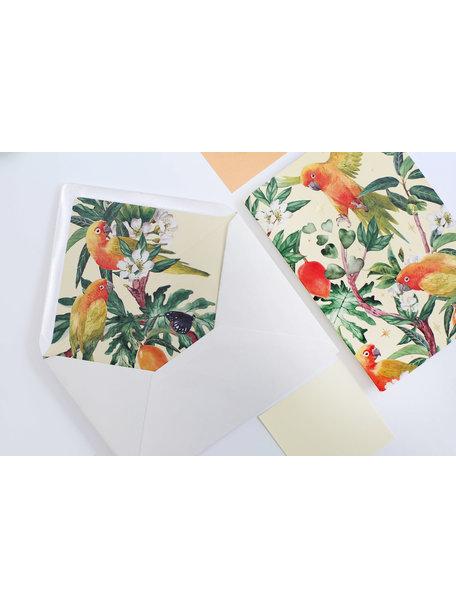 Creative Lab Amsterdam Go go Mango Greeting Card
