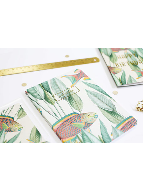 Creative Lab Amsterdam Parrot Fish - Notebook