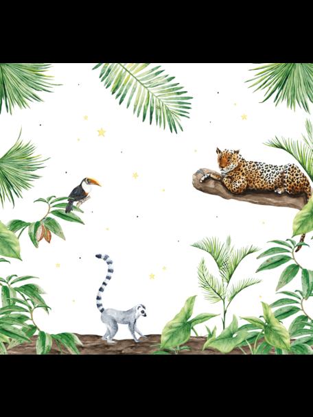 Creative Lab Amsterdam Jungle Tiger Behang setting