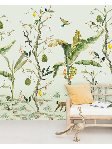 Creative Lab Amsterdam Monkey Life Wallpaper Mural