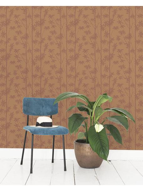 Creative Lab Amsterdam Bamboo Behang Stone
