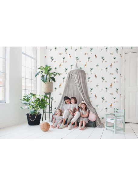 Creative Lab Amsterdam Savannah Palmtree Wallpaper
