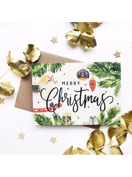 Creative Lab Amsterdam Swing Horse Christmas Card