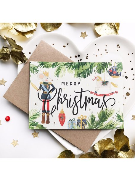 Creative Lab Amsterdam Mouse Christmas Card