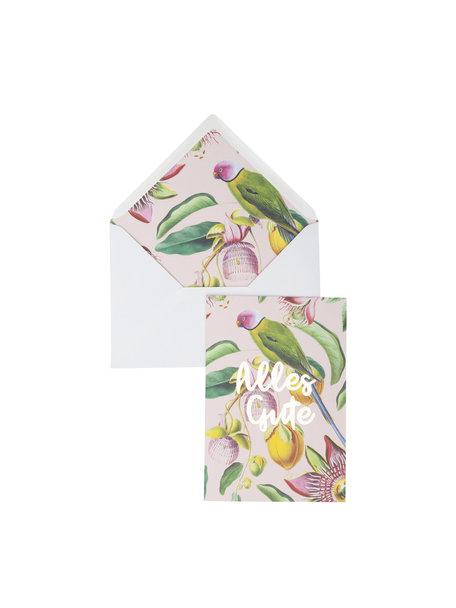 Botanic Garden Greeting Card - Alles Gute