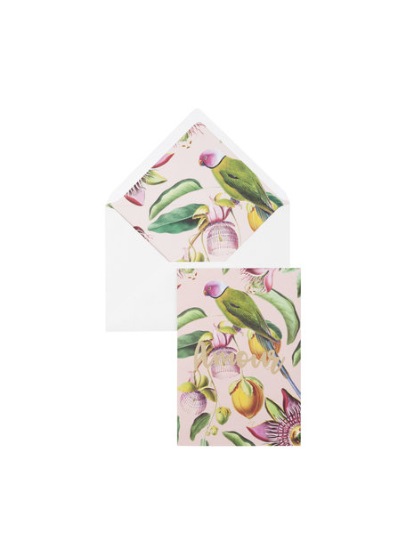 Botanic Garden Greeting Card - Amour