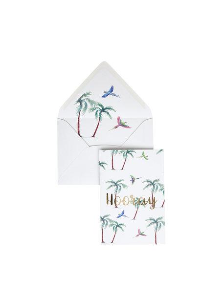 Parrot Palm Wenskaart - Hooray
