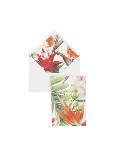 Power Flower Greeting Card - Happily Ever After