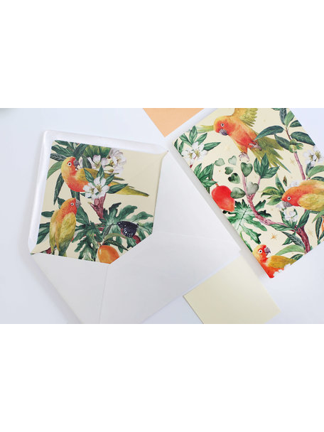Go go Mango Greeting Card - Alles Gute