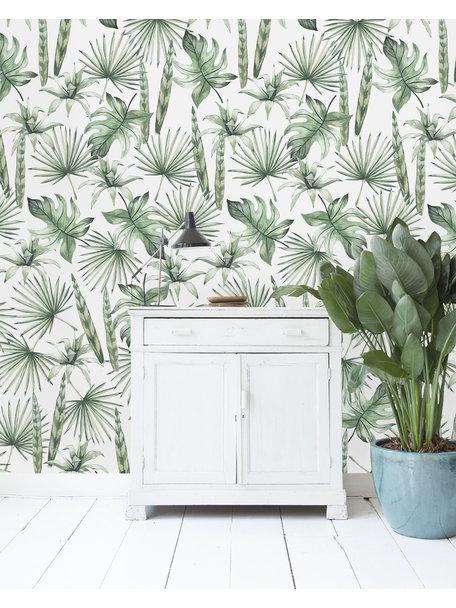 Jungle Leaves Wallpaper