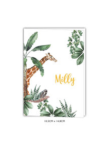 Creative Lab Amsterdam Birth Announcement Card - Baby Monkeys 105x148