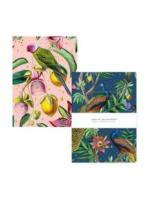 Creative Lab Amsterdam Passion Peacock/Botanical Garden - Schriftset