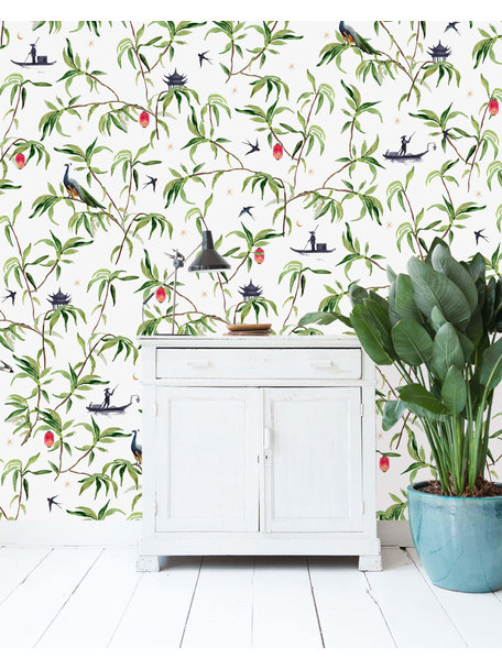 Creative Lab Amsterdam Chinese Riverside Wallpaper