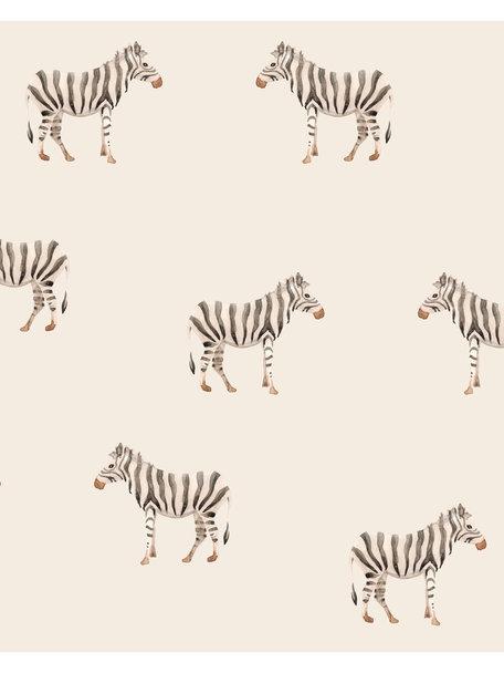 Creative Lab Amsterdam Safari Zebra Behang