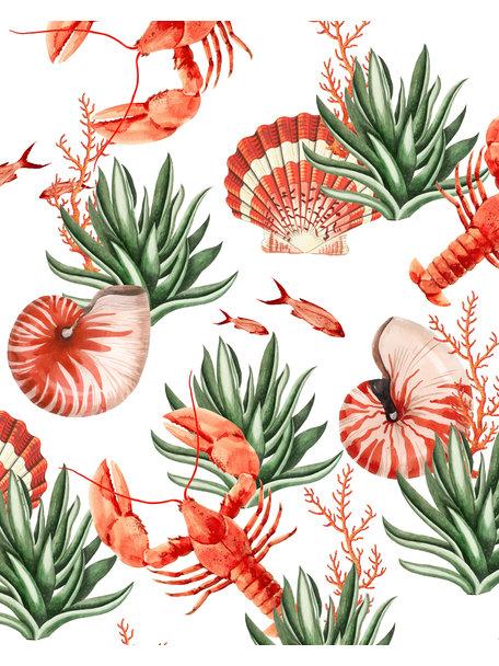 Creative Lab Amsterdam Fruits de Mer Wallpaper