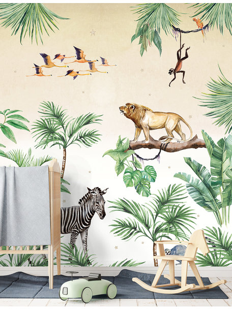 King of the Jungle Behang