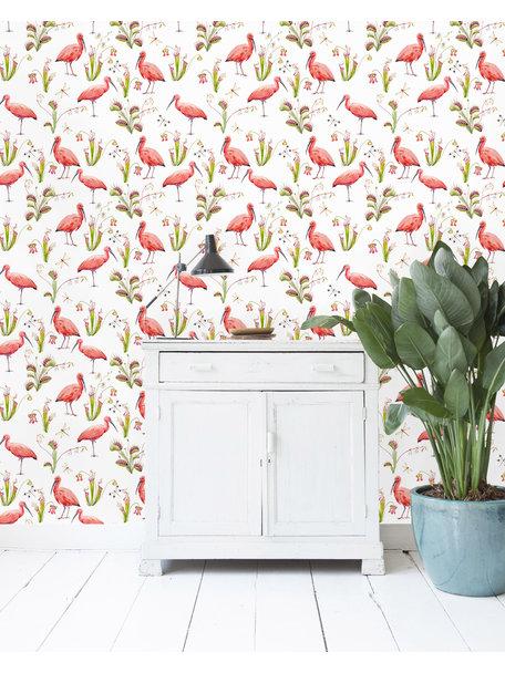 Pink Bird Wallpaper