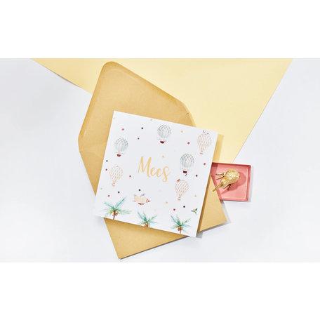 Creative Lab Amsterdam Birth  announcement Card - Balloon 148x148