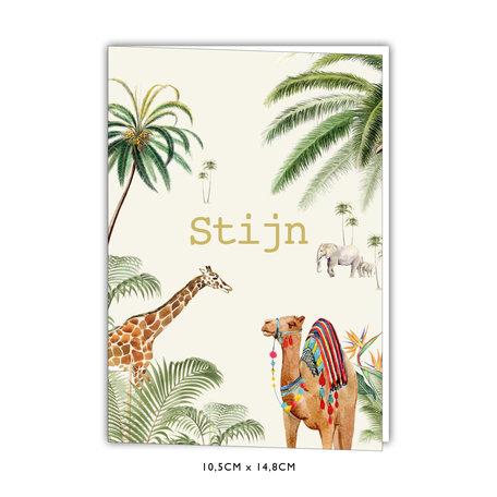 Creative Lab Amsterdam Birth  announcement Card - Binti Home 105x148