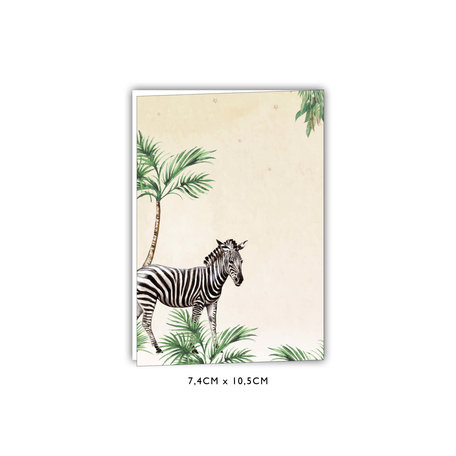 Creative Lab Amsterdam Baby Announcement Card - King of the Jungle 74x105