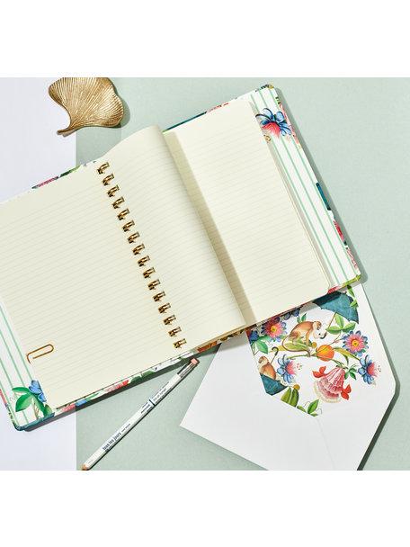 Creative Lab Amsterdam Mister Nilson A5 - Notebook met verborgen ringband