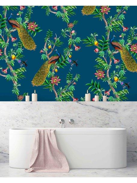 Creative Lab Amsterdam Passion Peacock Bathroom Wallpaper
