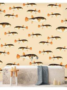 Creative Lab Amsterdam Follow My Fin Bathroom Wallpaper