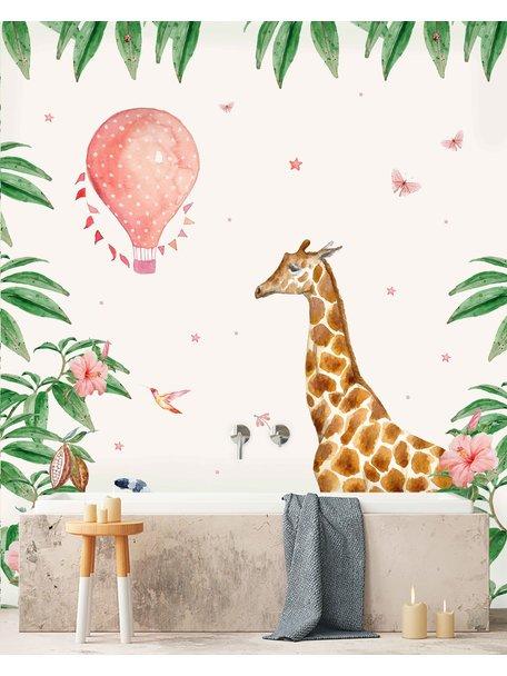 Creative Lab Amsterdam Giraf Badkamer Behang Betting