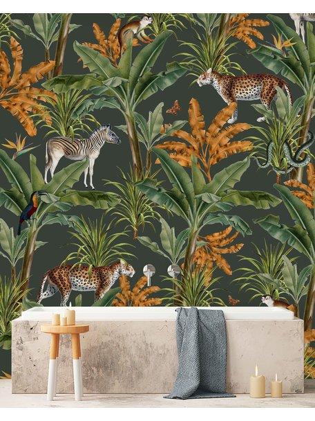 Creative Lab Amsterdam Mighty Jungle Bathroom Wallpaper