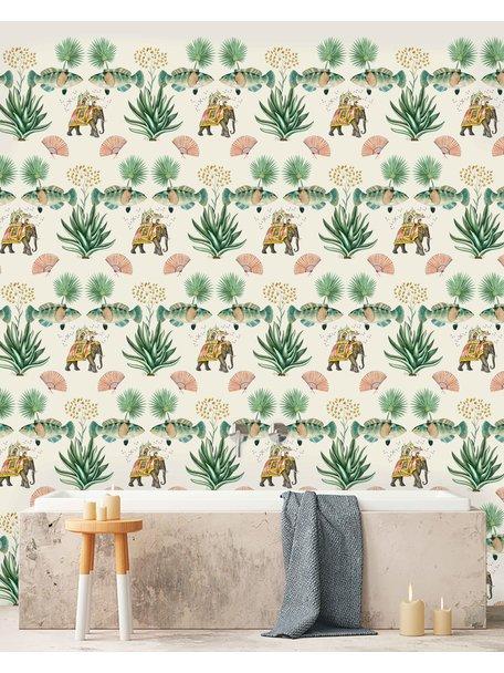 Creative Lab Amsterdam Jaipur Bathroom Wallpaper