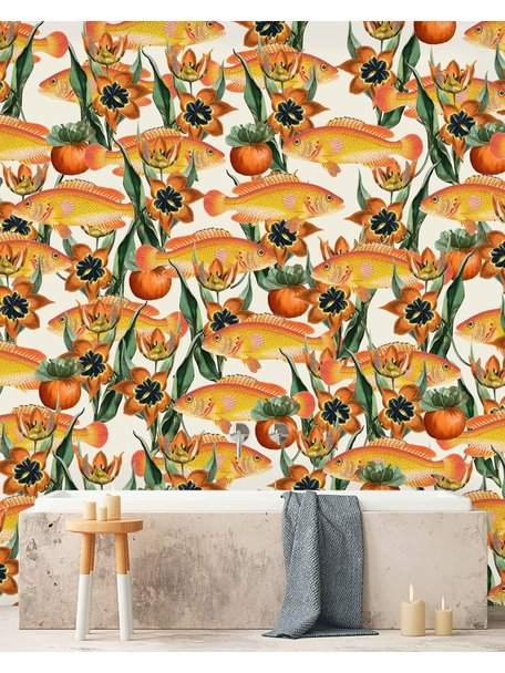 Creative Lab Amsterdam Dutch Parade Bathroom Wallpaper