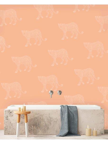 Panther Pink Behang