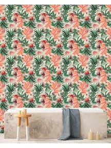 Creative Lab Amsterdam Pink Jungle Badkamer Behang
