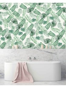 Creative Lab Amsterdam Leave Wall Bathroom Wallpaper
