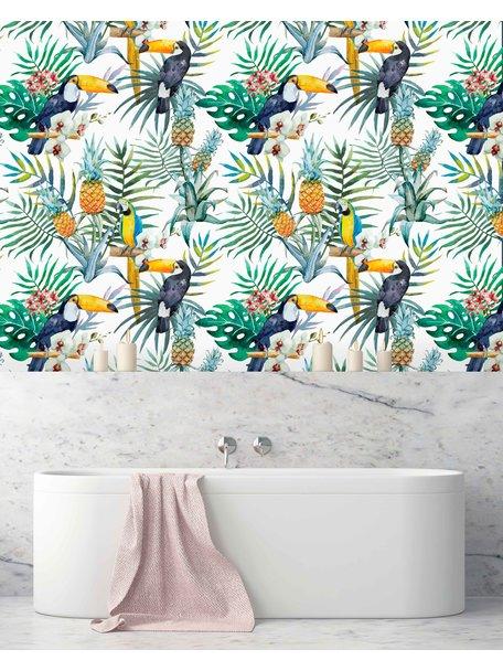 Tucan CLA Bathroom Wallpaper