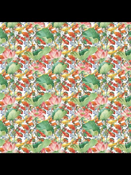 Creative Lab Amsterdam Lily Fishes Badkamer Behang
