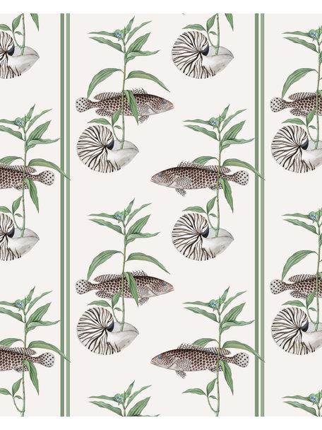 Creative Lab Amsterdam Fish & Shell Badkamer Behang