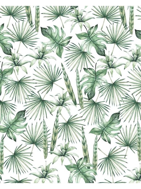 Creative Lab Amsterdam Jungle Leaves Badkamer Behang
