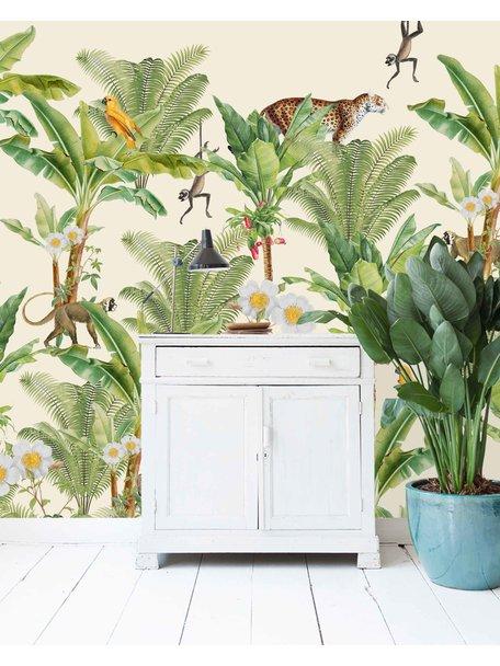 Creative Lab Amsterdam Chantal Bles - Flower Garden Behang