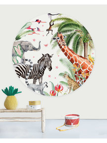 Creative Lab Amsterdam Yuki Wallpaper Circle