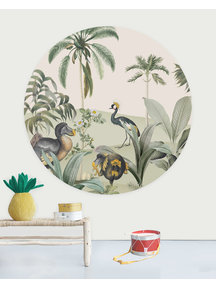 Creative Lab Amsterdam Dodo Oasis Wallpaper Circle
